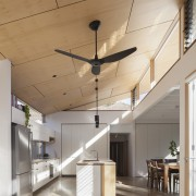 The clerestory windows cast interesting shadows throughout the architecture, ceiling, daylighting, interior design, lobby, gray, brown