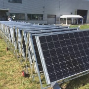 Transportable Solar Microgrid energy, solar energy, solar panel, solar power, technology, gray, black