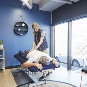Upwell Health Collective – Siren Design Group Pty gym, interior design, room, structure, white
