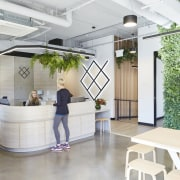 Upwell Health Collective – Siren Design Group Pty architecture, daylighting, house, interior design, lobby, real estate, white