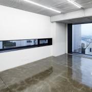 The 925 Building architecture, daylighting, floor, flooring, interior design, real estate, gray, white