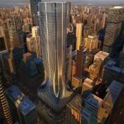 425 Park Avenue, New York architecture, building, city, cityscape, condominium, daytime, downtown, metropolis, metropolitan area, mixed use, skyline, skyscraper, tower, tower block, urban area, black