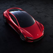 Tesla's new Roadster automotive design, automotive lighting, car, computer wallpaper, concept car, ferrari 458, land vehicle, luxury vehicle, mode of transport, motor vehicle, performance car, product design, race car, red, sports car, supercar, technology, vehicle, black