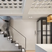 Andy Martin Architecture – Renovation in London architecture, ceiling, daylighting, interior design, product design, gray
