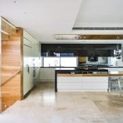 TIDA AU – Architect-designed new home winner – countertop, floor, interior design, kitchen, real estate, white