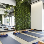 Upwell Health Collective – Siren Design Group Pty floor, flooring, interior design, physical fitness, structure, white