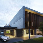 The ultimate family home? architecture, building, corporate headquarters, facade, house, property, real estate, white, black