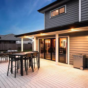 Envira bevel back weatherboards deck, home, house, outdoor structure, property, real estate, siding, window, black
