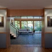 Photo by Jim Tetro architecture, door, floor, flooring, hardwood, house, interior design, real estate, room, window, wood, wood flooring, gray, brown