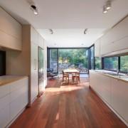 Windows make for excellent splashbacks ceiling, daylighting, estate, floor, flooring, hardwood, house, interior design, property, real estate, window, wood flooring, gray