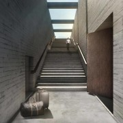 Images from OPA architecture, daylighting, stairs, structure, gray, black