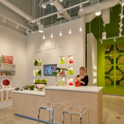 Floral Art is one of many retail stores exhibition, interior design, tourist attraction, brown, orange