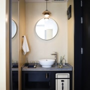 Hotel Ease Access bathroom, ceiling, home, interior design, room, sink, gray, black