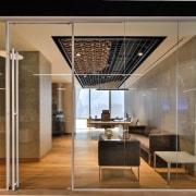 Smart Dubai ceiling, glass, interior design, lobby, brown