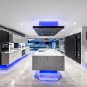 A focus on lighting – Kitchen by designer countertop, interior design, kitchen, gray