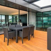 Registered Master Builders – House of the Year floor, flooring, interior design, real estate, wood, gray