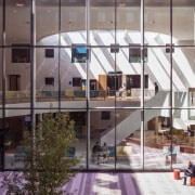 Zaans Medical Centre – Mecanoo apartment, architecture, building, facade, glass, mixed use, structure, window, gray, white