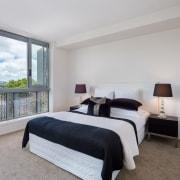 Find out more bed frame, bedroom, estate, home, interior design, property, real estate, room, window, gray