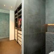 Registered Master Builders – House of the Year countertop, floor, flooring, interior design, room, tile, gray, black