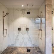 Armstrong Interiors bathroom, ceiling, floor, flooring, home, interior design, room, tile, wall, gray