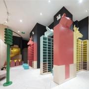 Neobio Family Park interior design, product design, room, gray