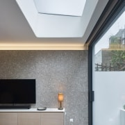 Andy Martin Architecture – Renovation in London architecture, ceiling, daylighting, floor, home, house, interior design, real estate, wall, window, gray, white