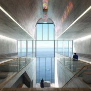 Images from OPA architecture, ceiling, daylighting, structure, tourist attraction, gray, black