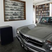 Guess the owner's favourite marque automotive design, automotive exterior, car, classic, mercedes benz, motor vehicle, personal luxury car, vehicle, gray, black