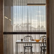 Norton Legal architecture, ceiling, daylighting, interior design, table, window, window covering, window treatment, gray, black