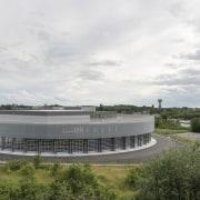 569 firestation architecture, corporate headquarters, headquarters, sky, structure, white