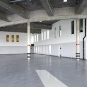 569 firestation floor, flooring, structure, gray