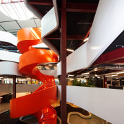Stairway to business heaven – the central feature interior design