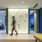 Zaans Medical Centre – Mecanoo ceiling, floor, flooring, glass, interior design, lobby