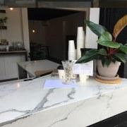 Smartstone furniture, glass, interior design, table, white, black