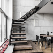 Architect: MetaformaPhotography by Krzysztof Strażyński architecture, floor, flooring, handrail, interior design, loft, product design, stairs, white