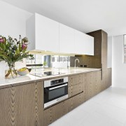 There's no shortage of natural light inside countertop, interior design, kitchen, property, real estate, white
