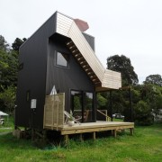 Graham Phipps-Black – Ruby Bay, Nelson house architecture, cottage, home, house, hut, real estate, shed, white