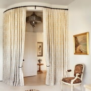 Curtains add privacy ceiling, curtain, decor, floor, home, interior design, living room, room, textile, window, window covering, window treatment, white
