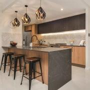 Smartstone cabinetry, countertop, cuisine classique, floor, flooring, interior design, kitchen, gray