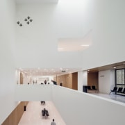Palace of Justice building | Mecanoo + Ayesa apartment, architecture, ceiling, daylighting, floor, home, house, interior design, lighting, product design, property, gray