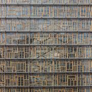 This new headquarters for the European Union Council architecture, building, condominium, daytime, facade, metropolis, pattern, residential area, skyscraper, tower block, urban area, window, gray, black