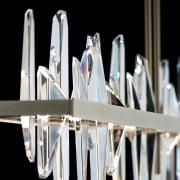 The Solitude is the perfect dramatic statement to light fixture, lighting, product design, black, white