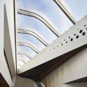 A seriously impressive skylight angle, architecture, ceiling, daylighting, line, product design, structure, white