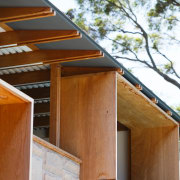 Architect: buck&simplePhotography by Tim Pascoe architecture, daylighting, facade, home, house, roof, siding, wood, brown