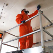 Asbestos containment and removal requires a specialised skill structure, gray