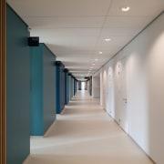Zaans Medical Centre – Mecanoo architecture, ceiling, daylighting, floor, interior design, gray