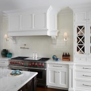 There's no shortage of space in this kitchen cabinetry, countertop, cuisine classique, furniture, home appliance, interior design, kitchen, room, gray