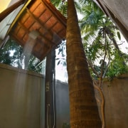 Architect: Studio PKA http://www.purankumar.com/Photographer: Amit Pasricha architecture, house, structure, tree, wood, brown