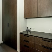 Registered Master Builders – House of the Year architecture, cabinetry, countertop, interior design, kitchen, room, wood, brown, gray