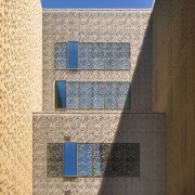 Palace of Justice building | Mecanoo + Ayesa architecture, building, daylighting, daytime, facade, line, sky, wall, window, orange, brown